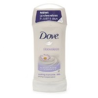 Dove Sleeveless Antiperspirant & Deodorant, Soothing Chamomile 74 g (Pack of 6) (並行輸入品)