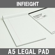 INFIEIGHT インフィエイト A5 リーガルノートパット (罫線) RULED PAD ☆ 10P03Dec16【 おしゃれ プレゼント ギフト ス...