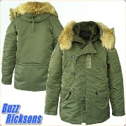バズリクソンズ BUZZ RICKSON'S Type N-3B Slender Original Spec. 『Buzz Rickson Mfg,Co.2012 』