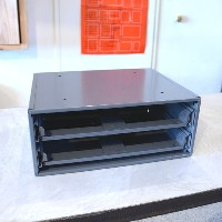 PACIFIC_FURNITURE_SERVICE_パシフィックファニチャーサービス_SLIDE RACK FOR COMPARTMENT BOX 2段 S
