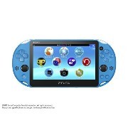 ★新品・即納★PS Vita PlayStation Vita Wi-Fiモデル アクア・ブルー(PCH-2000ZA23)