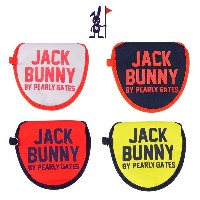 【NEW】Jack Bunny!! by PEARLY GATES ジャックバニー[54]ハイパーモデル/2ボール(大型マレット)パターカバー 262-0984919