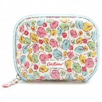 CathKidston 532525/ Travel Sewing Kit/トラベルソーイングキット/Little Leaves/brights/オフホワイト×ライトブルー/キャスキ...