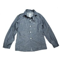 【期間限定30%OFF!】 POST OVERALLS(ポストオーバーオールズ)/#1102XX HORIZONTAL SLAB ENGINEER'S JACKET/navy