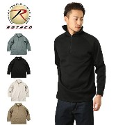 ROTHCO ロスコ 米軍EXTENDED COLD WEATHER POLY ジップシャツ【WIP03】