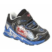 Disney(ディズニー) Boy's Cars Blue and Black Light-Up Sneakers カーズのスニーカー【並行輸入品】 12(18.4cm)