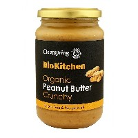 Clearspring - Organic Peanut Butter - Crunchy - 350g