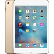 au iPad mini4 Wi-Fi+Cellular 16GB Gold MK712J/A 白ロム