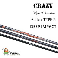 CRAZY クレイジー Royal Decoration Athlete Type B [Deep Inpact] シャフト フレックス(R, SR, S, SX, X, XX)