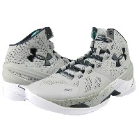 "Under Armour Curry 2 ""RAINMAKER GRAY-STORM""メンズ Aluminum/White/Stealth Grey アンダーアーマー カリー2 バッシュ ステフィン・..."