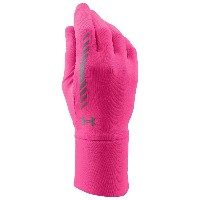 アンダーアーマー レディース ランニング グローブ【Under Armour ColdGear Infrared Layered Up! Liner Gloves】Rebel Pink/Reflective...