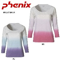 PHENIX フェニックス インナー GRADATION 3/4 PH322TL75 MA/PU