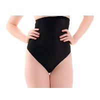 MAGIC BODYFASHION ハイウエスト下着 High Waist Thong 1371 black M
