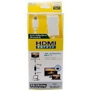 ミヨシ Mini DisplayPort − HDMI変換アダプタ HDA‐MD‐WH