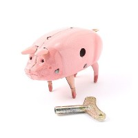 【LABOUR AND WAIT】H301 POLLY PIG NAKED TIN【ビショップ/Bshop フィギュア・ホビー】
