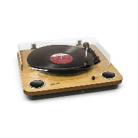 ION MAX LP -Conversion Turntable with Stereo Speakers- USB端子/ステレオスピーカー搭載オールインワン・ターンテーブル【送...