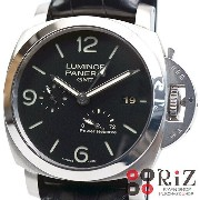 PANERAI Luminor 1950 3Days GMT Power Reserve Black ルミノール 1950 3デイズ GMT パワーリザーブ PAM00321【中古】