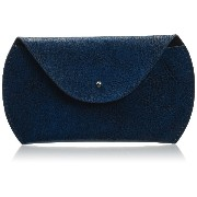 Jisoncase 【本革Macbook マウスポーチ】 Genuine leather macbook mouse pouch ダークブルー JS-SHB-01Z46