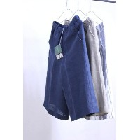 【SALE30%OFF】O'NEIL of DUBLIN(オニールオブダブリン) リネン100% 3/4 WIDE PANTS #789 3color【Lady's】