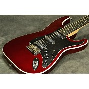 Fender Japan Exclusive Aerodyne Strat Medium Scale HSSOld Candy Apple Red