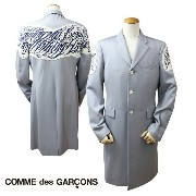 COMME des GARCONS HOMME PLUS コムデギャルソン ジャケット ロングコート グレー メンズ