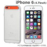 iPhone6 ケース カバー iPhone 6 / 4.7 インチ iface New Generation アイフェイス 正規品 ソフト クリア 透明 / レッド
