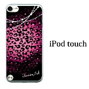 iPod touch 5 6 ケース iPodtouch ケース アイポッドタッチ6 第6世代 チャームピンク ヒョウ柄 レース for iPod touch 5 6 対...
