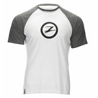 ZOOT M SURFSIDE INK TEE WHITE HEATHER