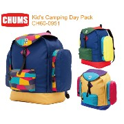 【CHUMS チャムス】CH60-0951<Kid's Camping Day Pack - キッズキャンピングデイパック>子供用キャンピングデイパック...