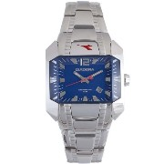 Diadora ディアドラ メンズ腕時計 Royal Blue Dial Stainless Steel Mens Watch 6126M-03M