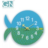 George Nelson ジョージ・ネルソン 壁掛け時計 Zoo Timer Clock フィッシュ GN902【S1】