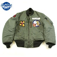 "No.BR13533 BUZZ RICKSON'SバズリクソンズLION UNIFORM INC.type MA-1""197th FTR.INTCP.SQ."""