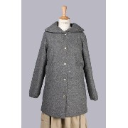 WOOL BIG COLLAR A-LINE DOWNCOAT(600667) ROSE BUD(ローズ・バッド)