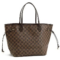 "LOUIS VUITTON/ルイ・ヴィトン""NEVERFULL MM・ネバーフルMM""ポーチ付きトートバッグ(ダミエ)N41358/DAMIER【S】"