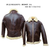 """BUZZ RICKSON'S バズリクソンズ B-6 """"BUZZ RICKSON CLO. CO. """"DOUBLE COATING 2015年生産 BR80415-15AW"""