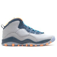"エアジョーダン ナイキ air air jordan 10 retro (gs) ""bobcats""【02P03Dec16】"