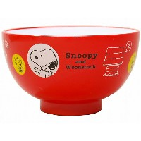 SNOOPY Snoopy´s house スヌーピーズハウス 塗汁椀【食器】