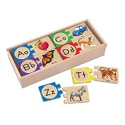 Quality value Self Correcting Letter Puzzles By Melissa & Doug by MELISSA & DOUG [並行輸入品]