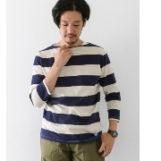 DOORS ORCIVAL 40/2 WIDE STRIPE【アーバンリサーチ/URBAN RESEARCH Tシャツ・カットソー】