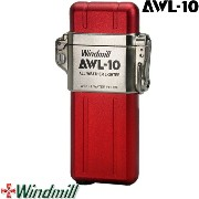 Windmill AWL-10 ウインドミル アウルテン ターボライター レッド【防水・耐風機能搭載】【日本製】【MADE IN JAPAN】