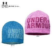 ★UNDER ARMOUR 〔アンダーアーマー〕AAL3850 UA GIRLS GRAPHIC ビーニー〔z〕