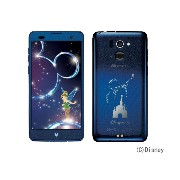 Disney Mobile on docomo F-07E [Night Blue] 白ロム