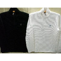 Be Ambition クロスワッペン&ロゴ Zip Up長袖Tシャツ ビーアンビション【コンビニ受取対応商品】