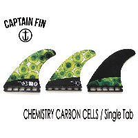 CAPTAIN FIN・キャプテンフィン/TRI FIN・トライフィン/Chemistry Carbon Cells SINGLE TAB/FUTURES・フューチャータイプ/CFF2111602...