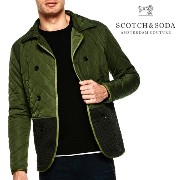 SCOTCH&SODA スコッチアンドソーダ Double Breasted Quilted Jacket キルティングジャケット メンズ スコッチ&ソーダ