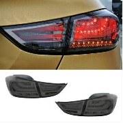 US BMW F10 Style BLACK Ver.2 Rear LED Tail Lamp 2011-2016