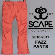 16-17 SCAPE ARES PANTS/SCAPE スノーボードウェア/SCAPE ウェア レディース/SCAPE ウエア レディース/SCAPE パンツ/エスケー...