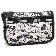 レスポートサック コスメポーチ LESPORTSAC 7315 P928 TRAVEL COSMETIC ポーチ MICKEY LOVES MINNIE