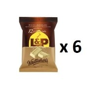 ウィッタカー Whittakers Share Pack Individually Wrapped Mini L & P Slab 180g bag 12pk 6EA [並行輸入品]