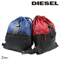 DIESEL ディーゼル バッグ リュック バックパック TO TWICE BACKPACK ブルー レッド メンズ [10/ 4 新入荷]